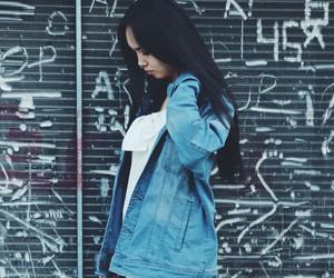 jeans street blue image