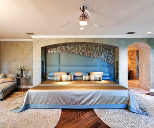 bed, fancy, and home image