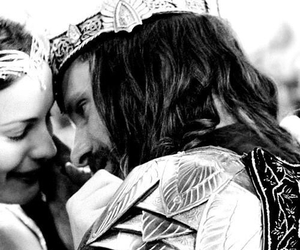 aragorn, arwen, and love image