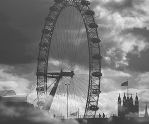 london, sky, and clouds image