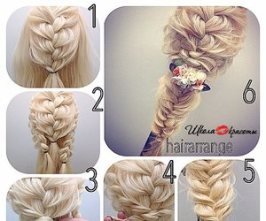 diy and hairstyle image