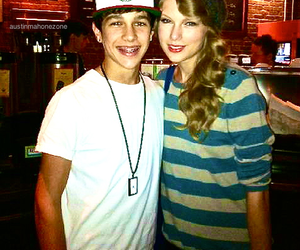 Taylor Swift and austin mahone image