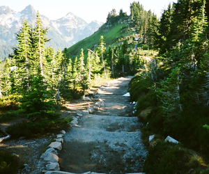 hipster, mountain, and nature image