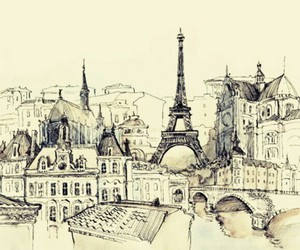 draw, france, and paris image