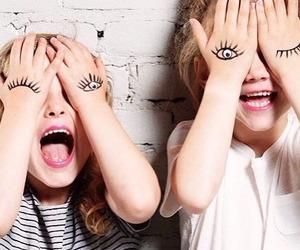 eyes, kids, and cute image