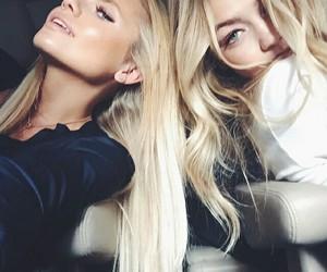 girl, gigi hadid, and blonde image