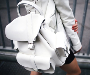 white, bag, and fashion image