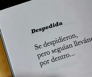 despedida, frases, and quote image