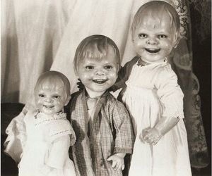 doll, creepy, and vintage image