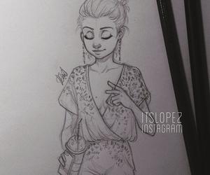 itslopez, selena gomez, and art image