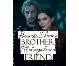 Avengers, polyvore edit, and the maximoff twins image