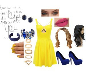 beatles, fashion, and Polyvore image