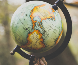 globe, adventure, and world image