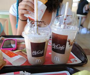 drink, food, and mccafe image