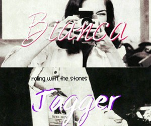 bianca jagger, edit, and black & white image