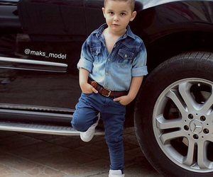 baby, cars, and fashion image