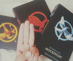books, katniss, and peeta image