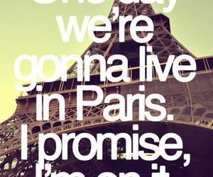 paris, eiffel tower, and promise image