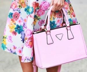 fashion, bag, and pink image