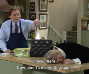 the nanny, niles, and funny image