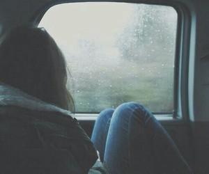 car, sad, and girl image