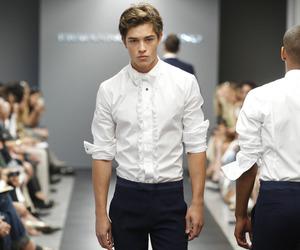 model, boy, and Francisco Lachowski image