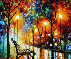art, colors, and painting image