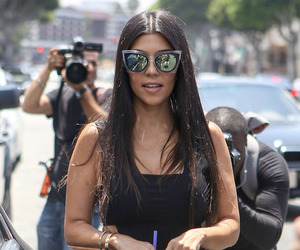 kourtney kardashian and style image