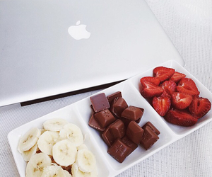 apple, chocolate, and classy image