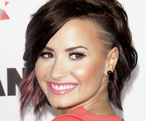 demi lovato, event, and hair image