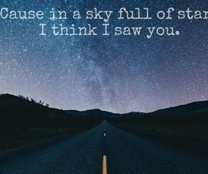 coldplay, milky way, and sky image
