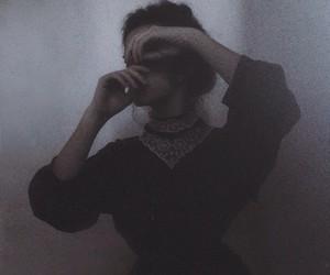 dark and vintage image