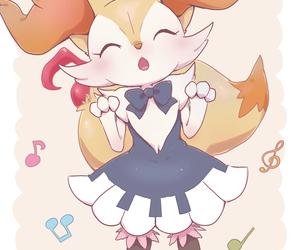 braixen and pokemon image