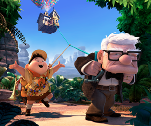 up, disney, and funny image