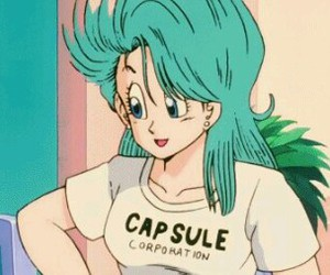 bulma and dbz image