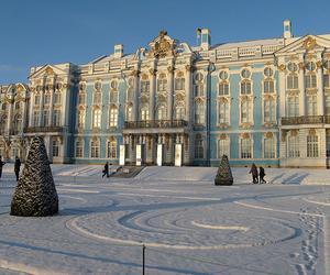 russia, snow, and pushkin image