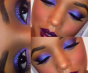 colors, makeup, and pretty image