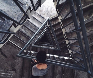 gray and ladder image