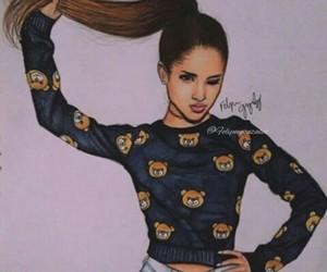 ariana grande, drawing, and art image