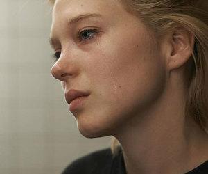Lea Seydoux, cry, and sad image