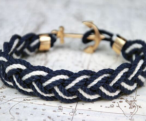 bracelet, anchor, and pretty image