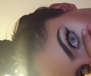 eyes, eyebrows, and goals image