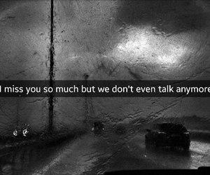 sad, miss, and rain image