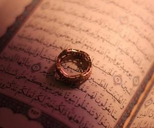quran, عربي, and muslim image