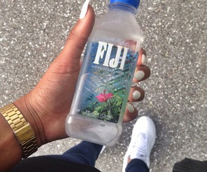 water, fiji, and fashion image