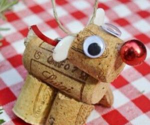 christmas, diy, and reindeer image
