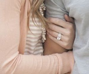 gray, pink, and ring image