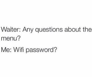funny, wifi, and quote image