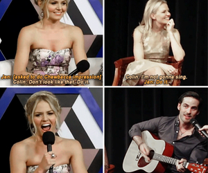 Jennifer Morrison, ouat cast, and colin odonoghue image