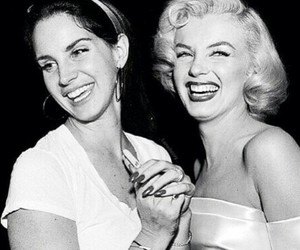 lana del rey, Marilyn Monroe, and music image